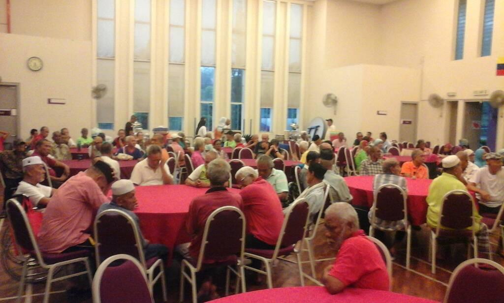Majlis Berbuka Puasa Bersama Warga Emas Rumah Seri Kenangan Cheras Tahun 2018